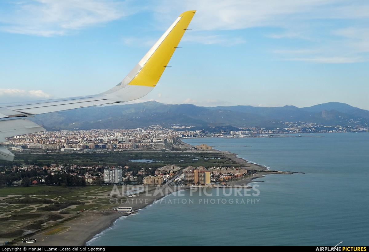 Vueling Airlines EC-LUO aircraft at Málaga