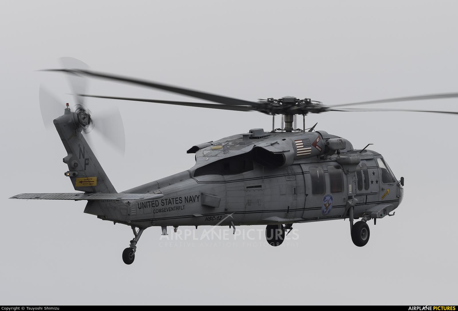 USA - Navy 167835 aircraft at Atsugi AB