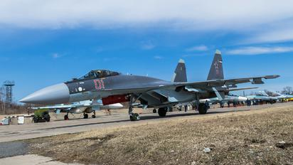 RF-90719 - Russia - Air Force Sukhoi Su-35
