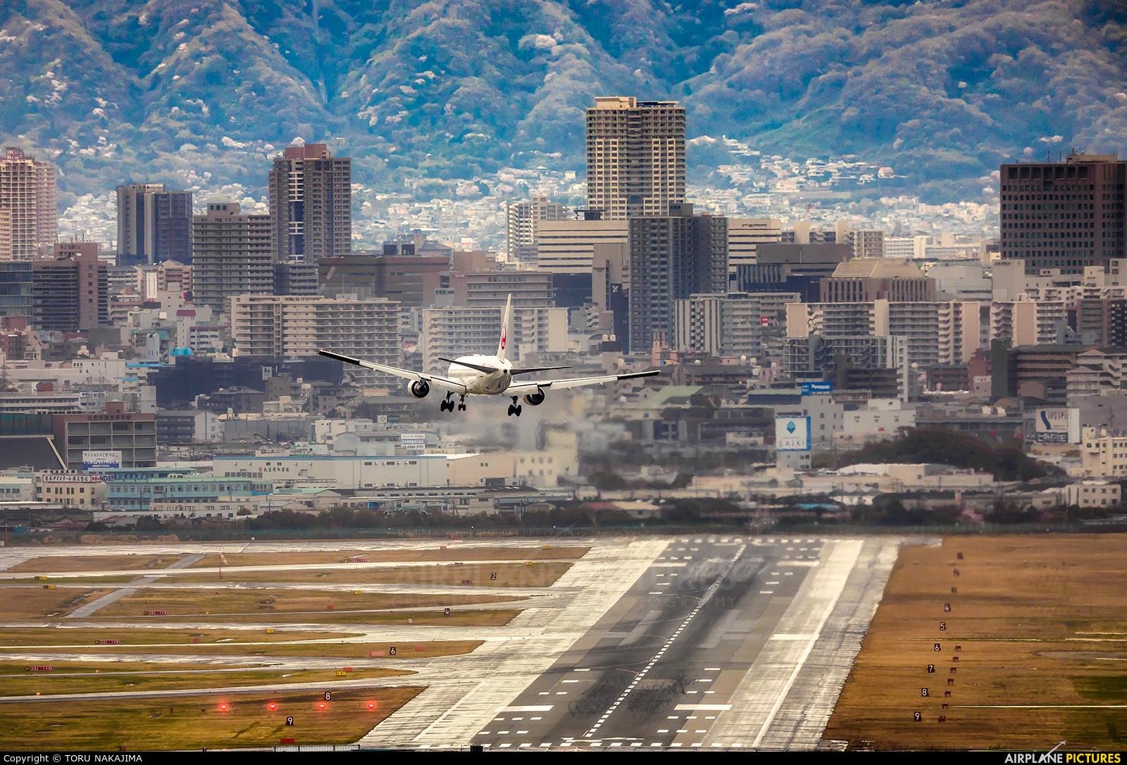 JAL - Japan Airlines JA623J aircraft at Osaka - Itami Intl