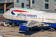 G-BYGD - British Airways Boeing 747-400 aircraft