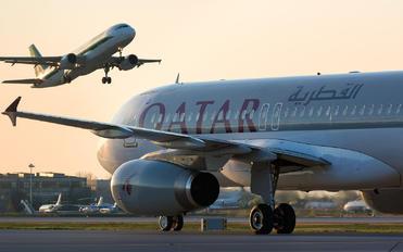 A7-AHA - Qatar Airways Airbus A320