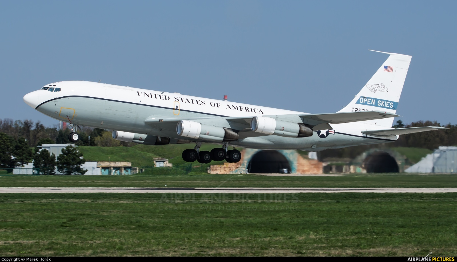 USA - Air Force 61-2670 aircraft at Pardubice