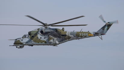7355 - Czech - Air Force Mil Mi-24V