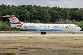 OE-LVN - Austrian Airlines/Arrows/Tyrolean Fokker 100