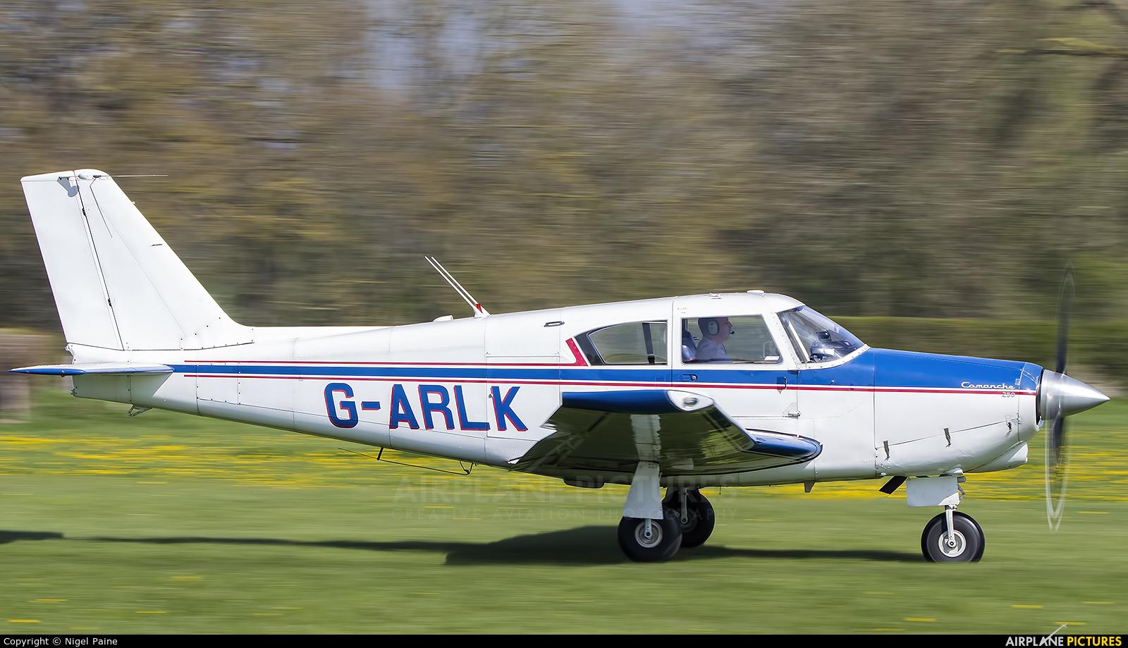 Private G-ARLK aircraft at Lashenden / Headcorn