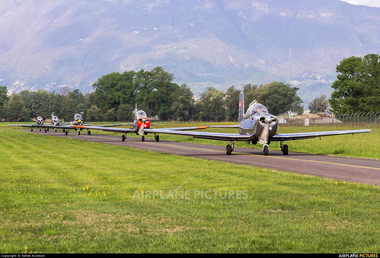 P3 Flyers Ticino - aircraft at Locarno