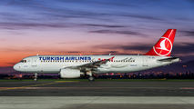 TC-JPL - Turkish Airlines Airbus A320 aircraft