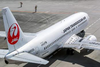 JA8525 - JAL - Japan Transocean Air Boeing 737-400