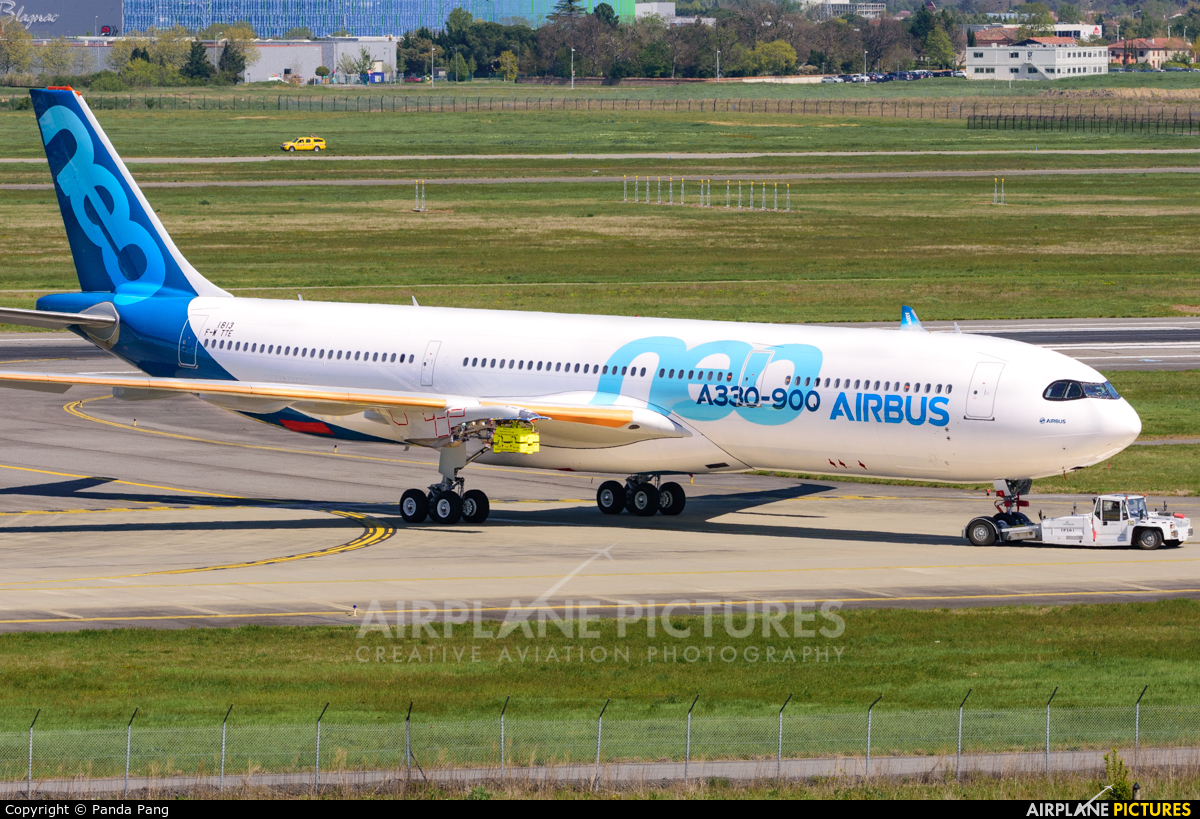 Airbus Industrie F-WTTE aircraft at Toulouse - Blagnac