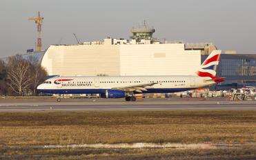 G-MEDF - British Airways Airbus A321