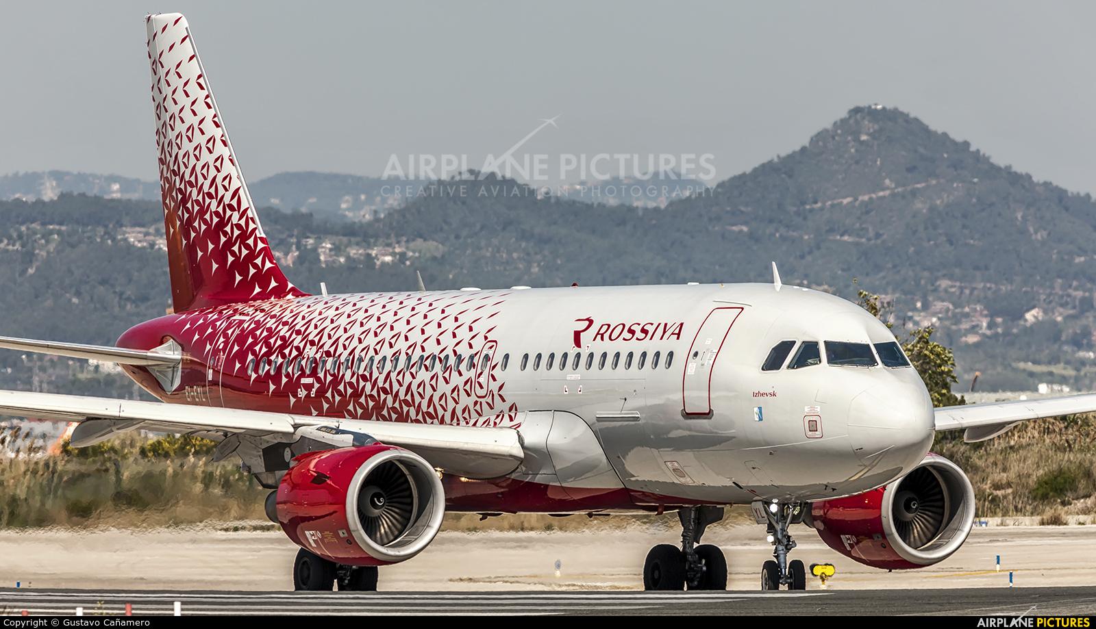 Rossiya EI-EYL aircraft at Barcelona - El Prat