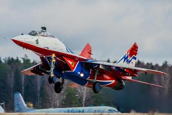 "12 - Russia - Air Force ""Strizhi"" Mikoyan-Gurevich MiG-29UB"