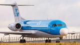 KLM Cityhopper Fokker 70 PH-KZP at Amsterdam - Schiphol airport