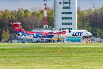 SP-EQH - LOT - Polish Airlines de Havilland Canada DHC-8-400Q / Bombardier Q400