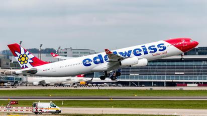 HB-JMF - Edelweiss Airbus A340-300
