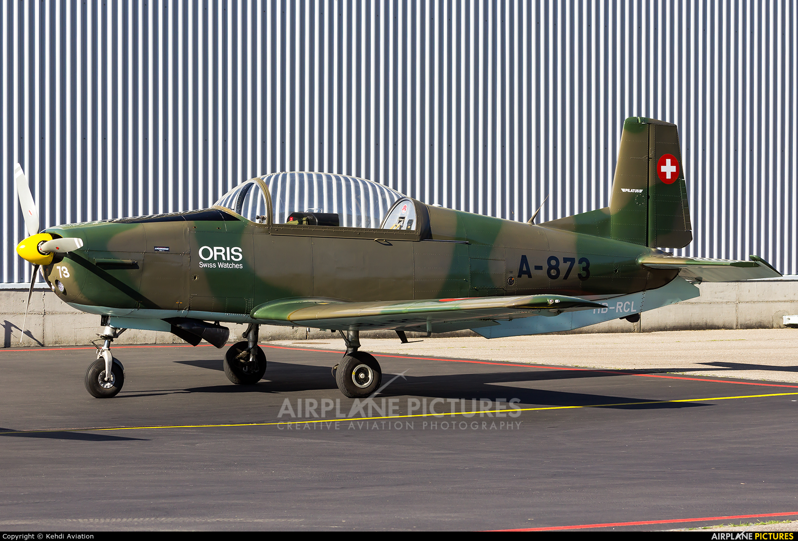 P3 Flyers Ticino HB-RCL aircraft at Locarno