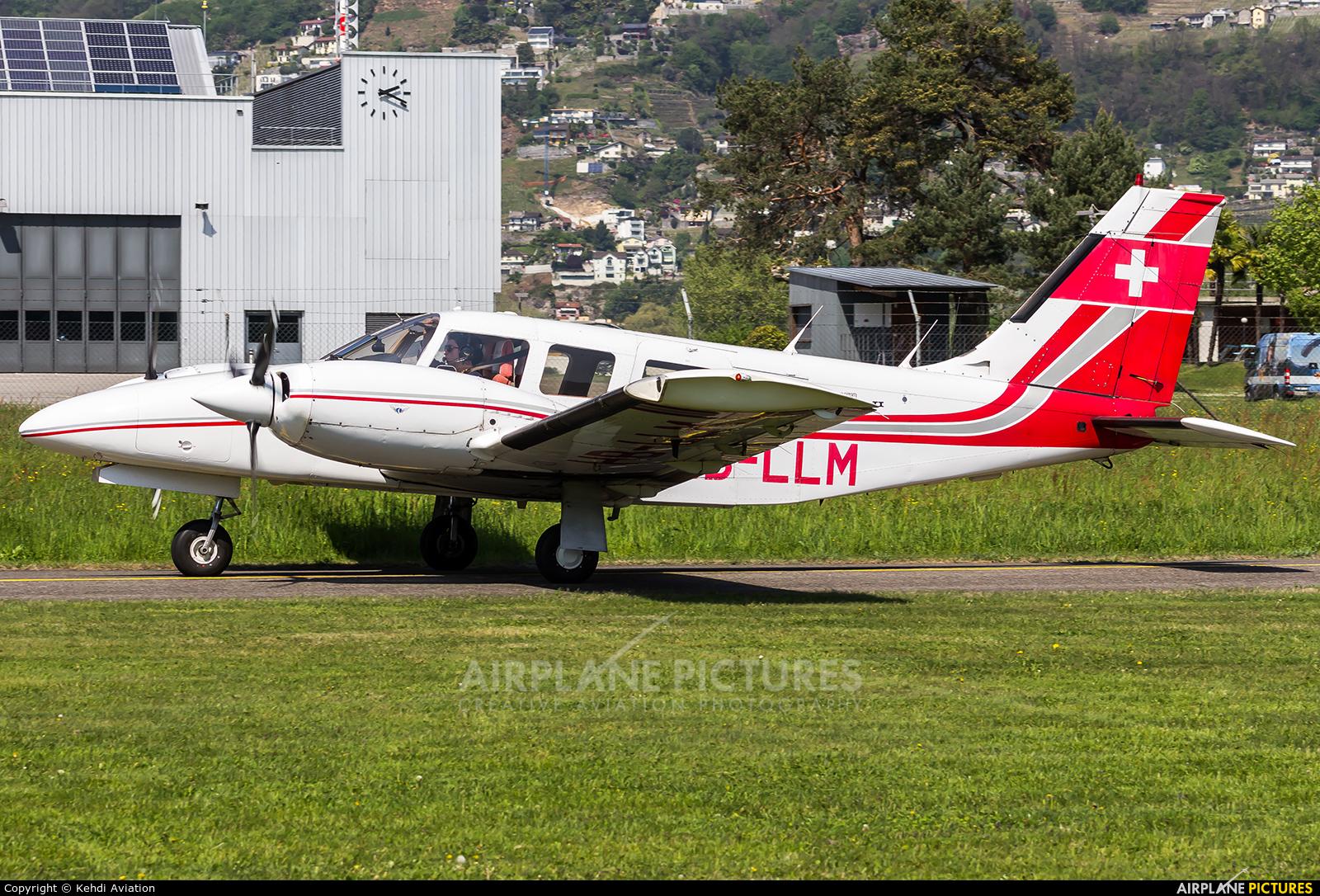 Private HB-LLM aircraft at Locarno