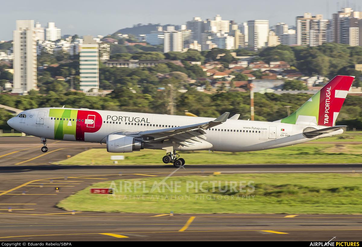 TAP Portugal CS-TOP aircraft at Porto Alegre - Salgado Filho