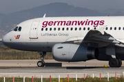 D-AGWI - Germanwings Airbus A319 aircraft