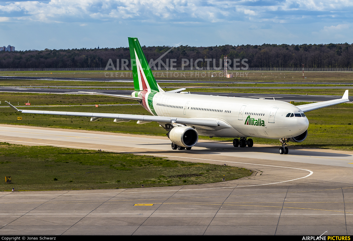 Alitalia I-EJGA aircraft at Berlin - Tegel