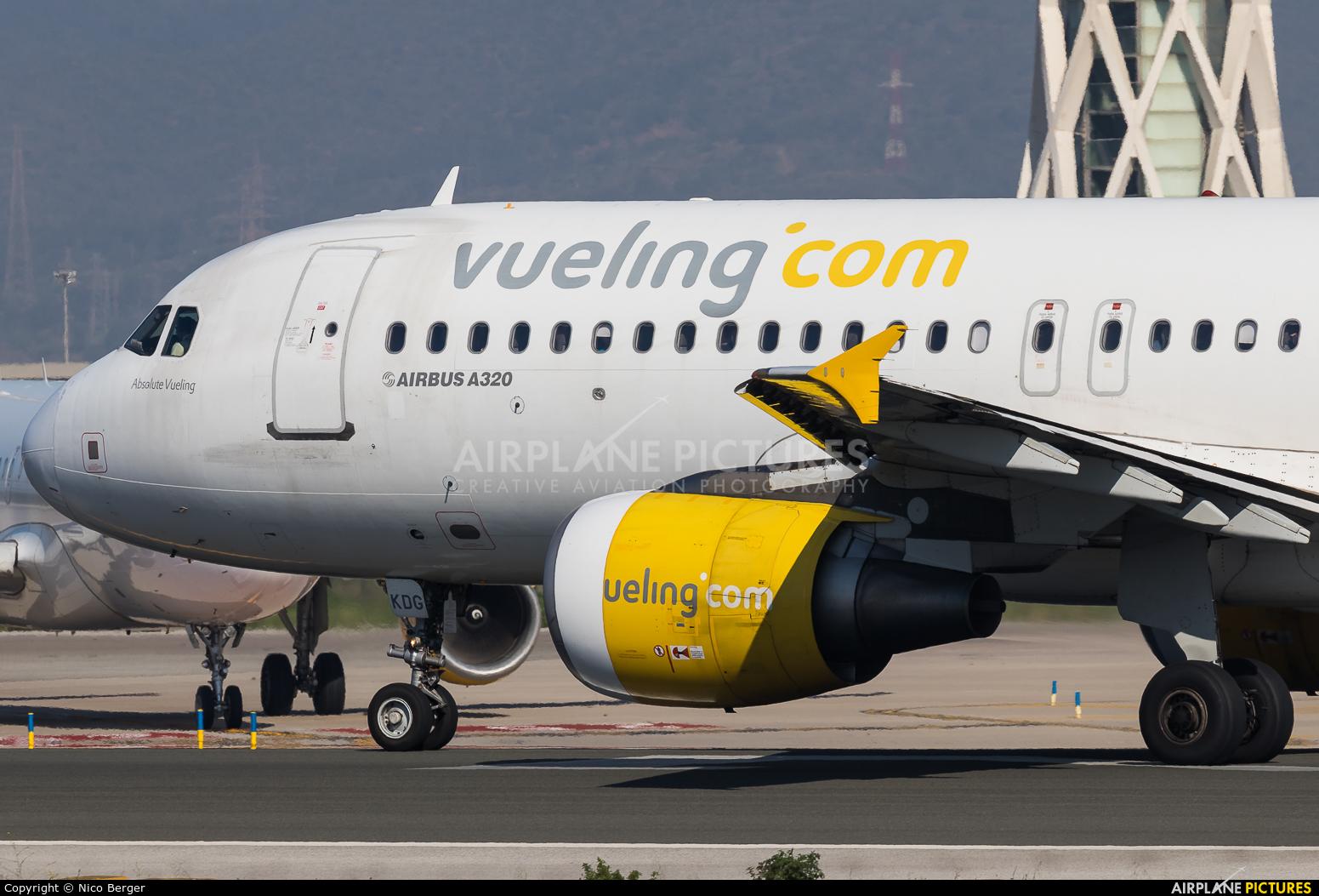 Vueling Airlines EC-KDG aircraft at Barcelona - El Prat