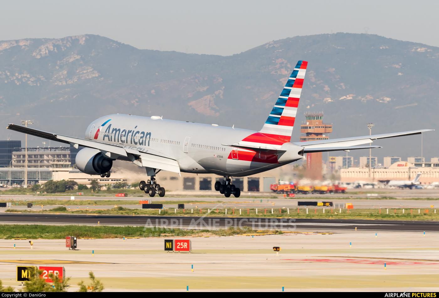 American Airlines N789AN aircraft at Barcelona - El Prat