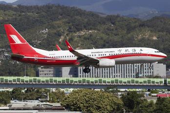B-6107 - Shanghai Airlines Boeing 737-800