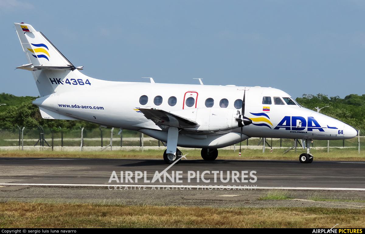 ADA Aerolinea de Antioquia HK-4364 aircraft at Cartagena - Rafael Núñez