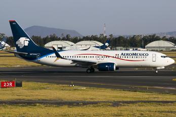 N875AM - Aeromexico Boeing 737-800