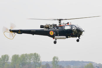M-1 - Belgium - Navy Sud Aviation SA-316 Alouette III