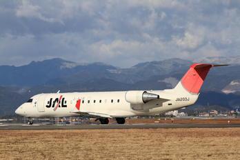JA203J - J-Air Canadair CL-600 CRJ-200