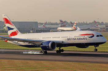 G-ZBJC - British Airways Boeing 787-8 Dreamliner