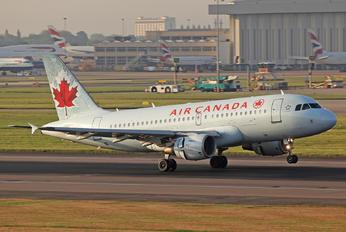 C-GITR - Air Canada Airbus A319