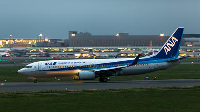 JA63AN - ANA - All Nippon Airways Boeing 737-800