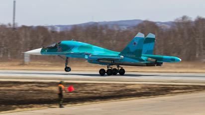 RF-81725 - Russia - Air Force Sukhoi Su-34