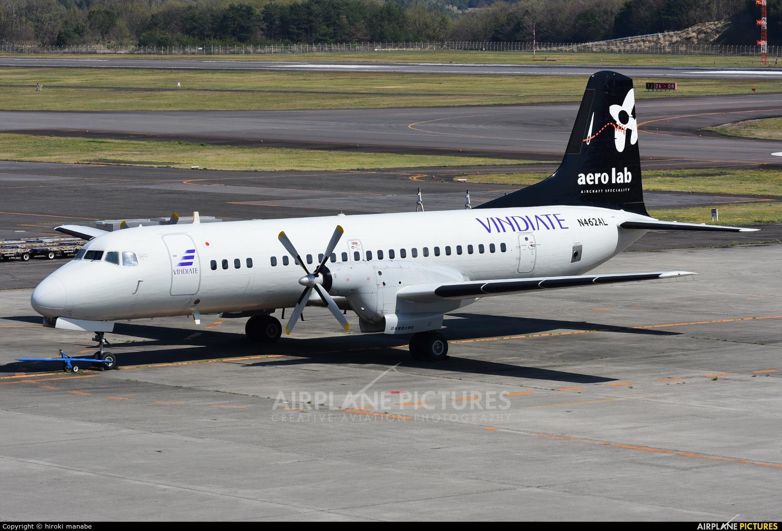 Aero Lab N462AL aircraft at Takamatsu