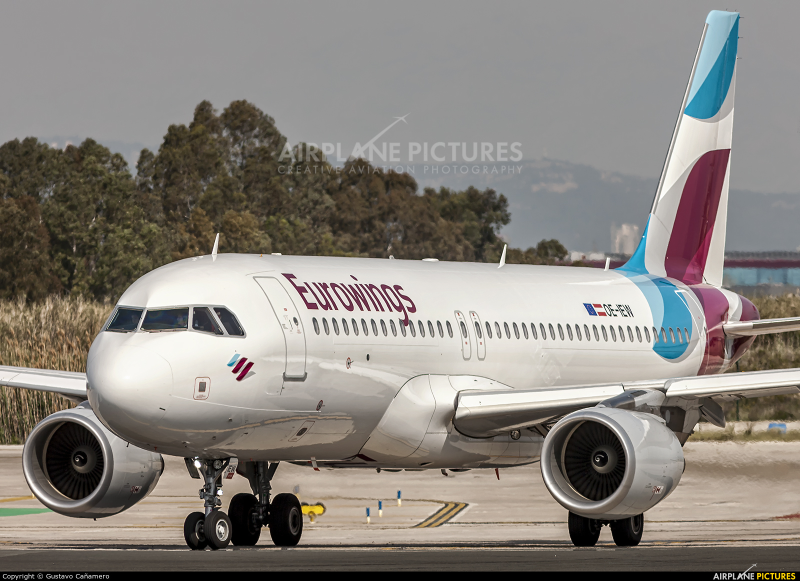 Eurowings Europe OE-IEW aircraft at Barcelona - El Prat
