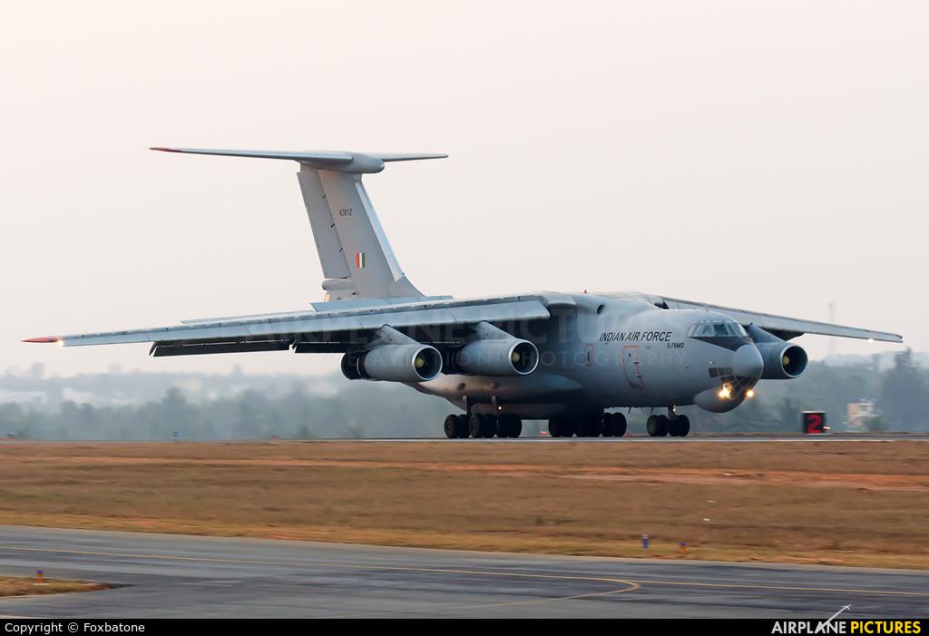 India - Air Force K3012 aircraft at Yelahanka AFB