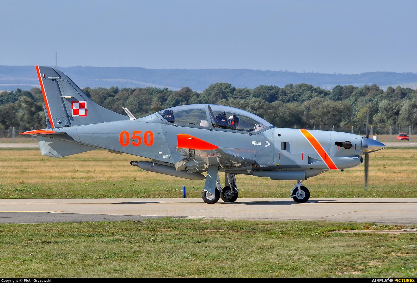 "Poland - Air Force ""Orlik Acrobatic Group"" 050 aircraft at Ostrava Mošnov"