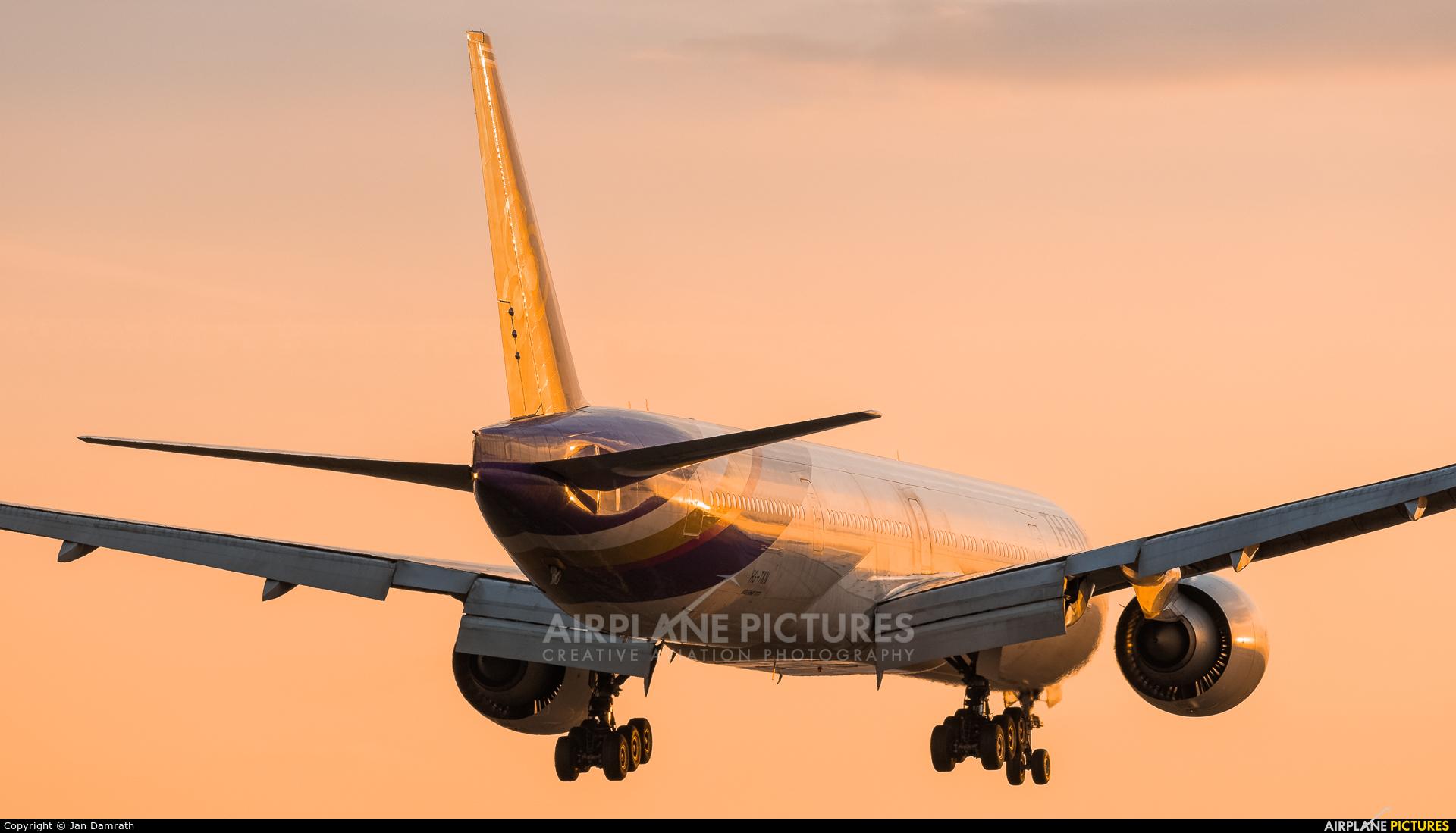 Thai Airways HS-TKN aircraft at Frankfurt