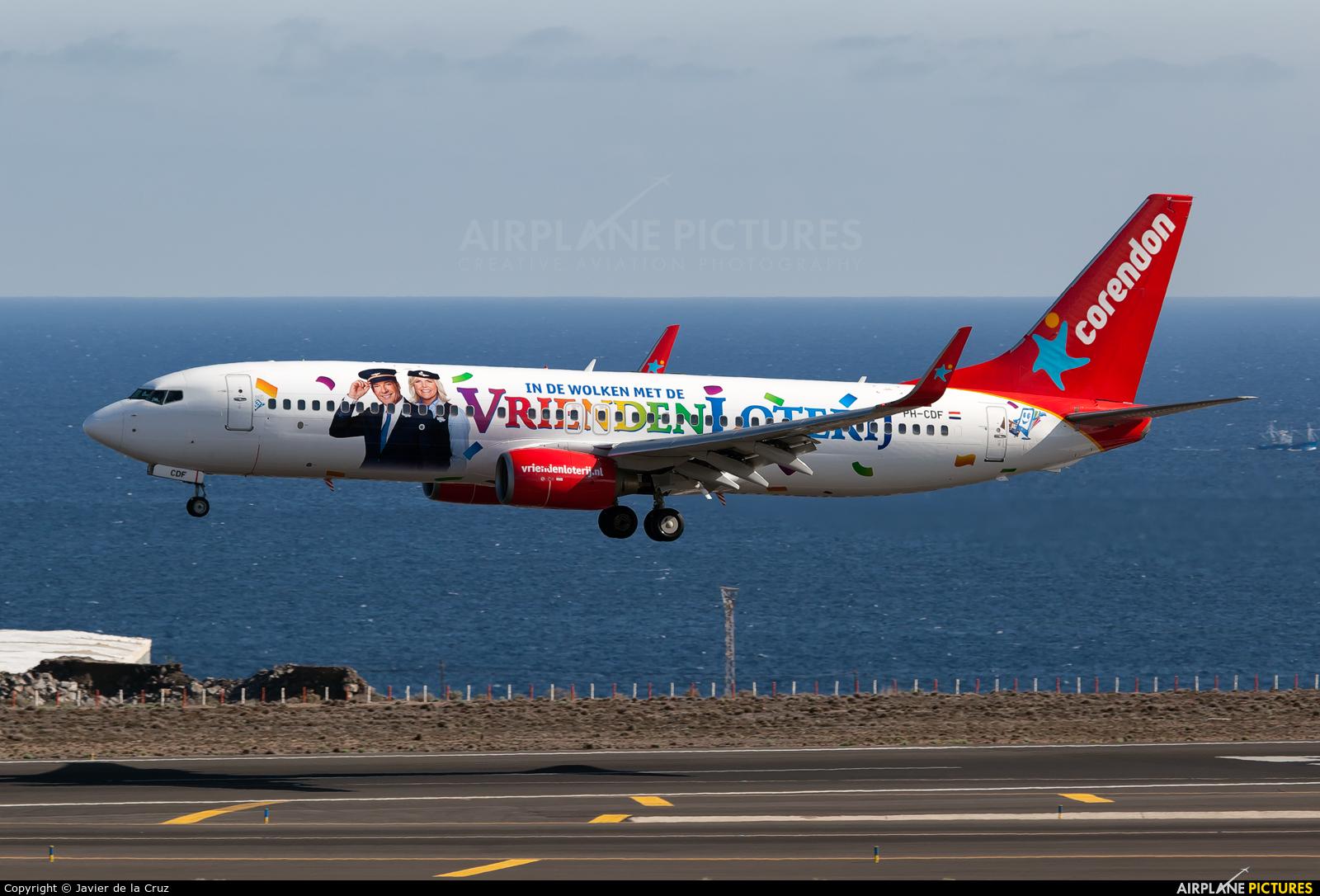 Corendon Dutch Airlines PH-CDF aircraft at Tenerife Sur - Reina Sofia