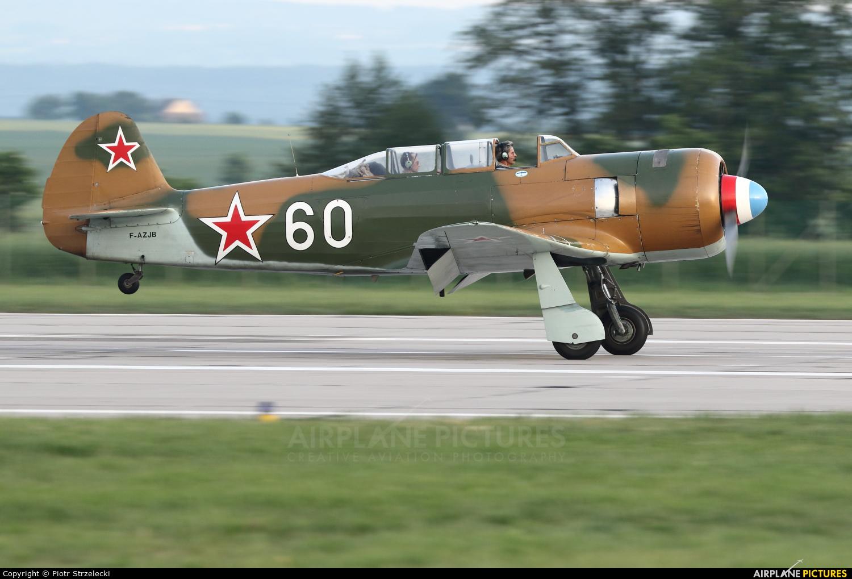 Private F-AZJB aircraft at Hradec Králové