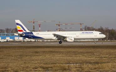 SX-BHT - Air Moldova Airbus A321