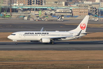 JA346J - JAL - Japan Airlines Boeing 737-800