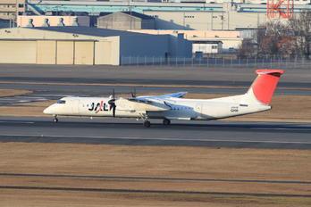JA843C - JAL-  Japan Air Commuter de Havilland Canada DHC-8-400Q / Bombardier Q400