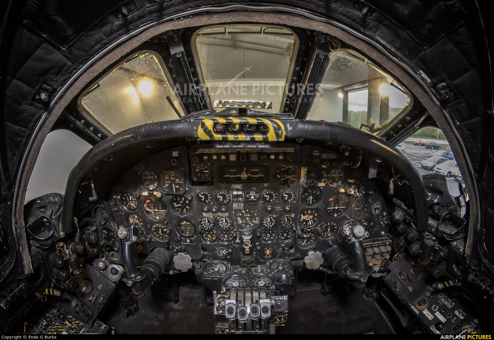 Royal Air Force XM602 aircraft at Woodford
