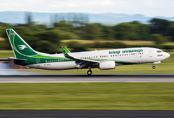 YI-ASJ - Iraqi Airways Boeing 737-800