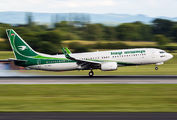 YI-ASJ - Iraqi Airways Boeing 737-800 aircraft