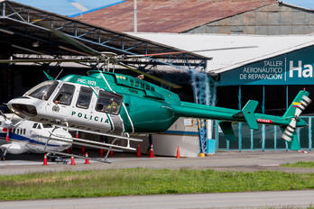 PNC-0929 - Colombia - Police Bell 407